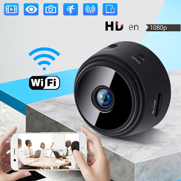IP Camera Mini Cam Web Wifi  USB Night Vision Surveillance HD Camera Home Outdoor 360 Wireless Wi-fi Webcam Baby Monitor - LADSPAD.COM