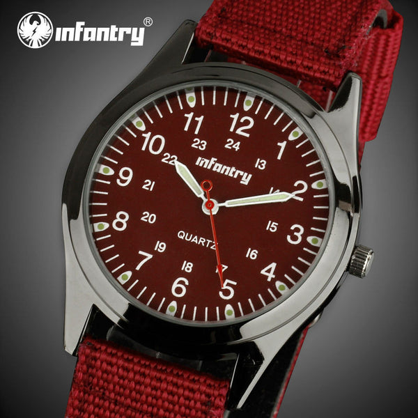 INFANTRY Quartz Luxury Men/Women Watch - LADSPAD.COM