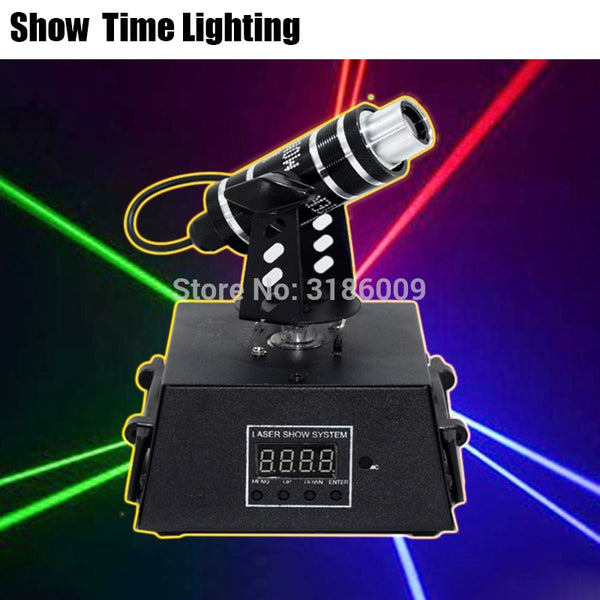 Show Time Mini Dj Moving Head Beam Line Laser Red/Green/Blue Point Lazer Small LandMark Laser Good Use For Party Disco KTV Dance