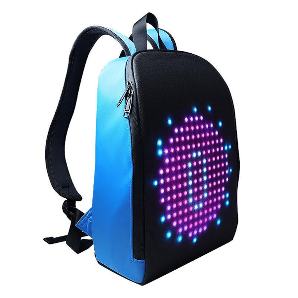 New Advertising Light Led Display Backpack Smart WIFI Version APP Control DIY Outdoor LED Screen Walking Billboard Backpack - LADSPAD.COM