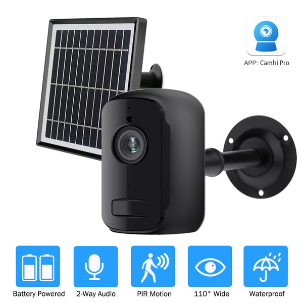 ZILNK IP Camera Outdoor Indoor 1080P HD Wireless WIFI Camera Rechargeable Battery Powered Home Security IP CAM Camhi  Pro - LADSPAD.COM