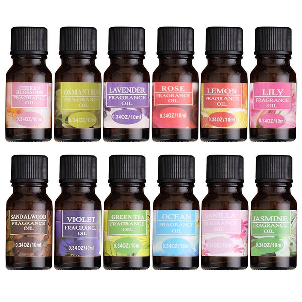 10ml Natural Water-soluble Air Freshening Essential Oils For Aromatherapy Diffusers Relieve Stress Skin Care Essential Oil TSLM1 - LADSPAD.UK