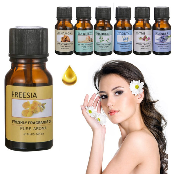 10ml Water-soluble Flower Fruit Essential Oil Relieve Stress for Humidifier Fragrance Lamp Air Freshening Aromatherapy TSLM1 - LADSPAD.UK