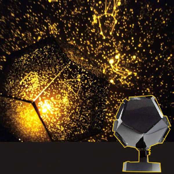 Christmas 60000 Stars Starry Sky Projector Light DIY Assembly Home Planetarium Lamp for Bedroom JS23 - LADSPAD.COM