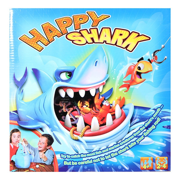 Sharks Trap Board Desktop Game Fishing Children Funny desktop trickery interactive family games For Kids Chilren mischief Gift - LADSPAD.COM