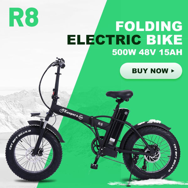 Electric bike 500W 48V15ah 45km/h Double battery electric mountain bike 4.0 fat tire Electric Bicycle beach E-bike - LADSPAD.COM