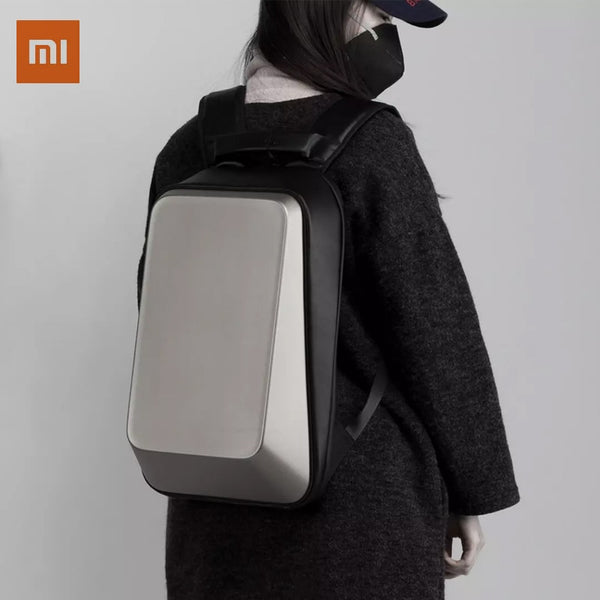 Xiaomi TAJEZZO Norma Backpack CUBE Series Hard Case MacBook Computer Bag Schoolbag Mobile Desktop Waterproof And Anti-Theft
