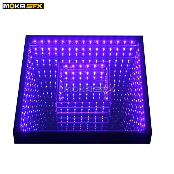40pcs/lot 3D Mirror Dance Floor RGB 3in1 Light Up Tile Floor Waterproof Dj Floor for Wedding Entertainment Theater - LADSPAD.COM