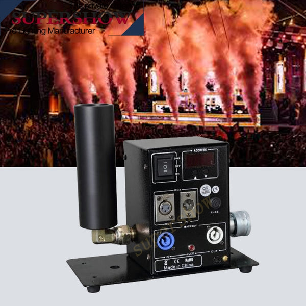 Spray 6-8m co2 cannon CO2 stage effect digital co2 jet dmx Machine for dj disco stage show concert atmosphere