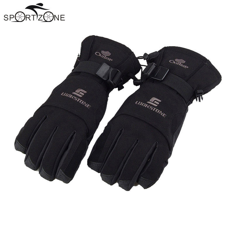 Men's Windproof Waterproof Winter Warm Gloves - LADSPAD.UK