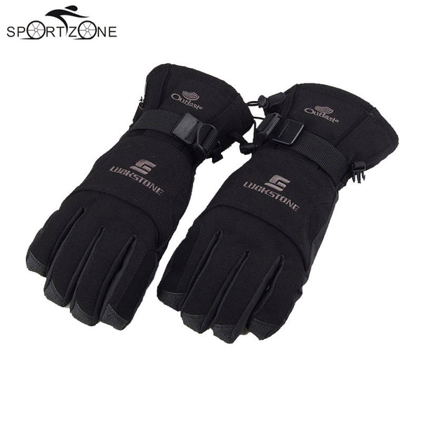 Men's Windproof Waterproof Winter Warm Gloves - LADSPAD.COM