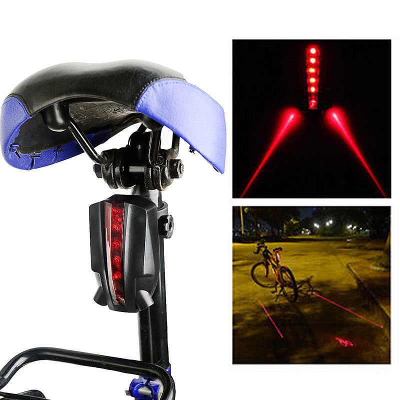 Intelligent LED Tail Light Bicycle Laser - LADSPAD.UK