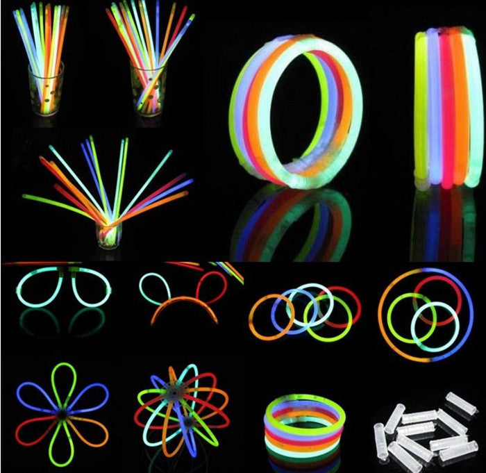 100 Glow sticks - LADSPAD.COM
