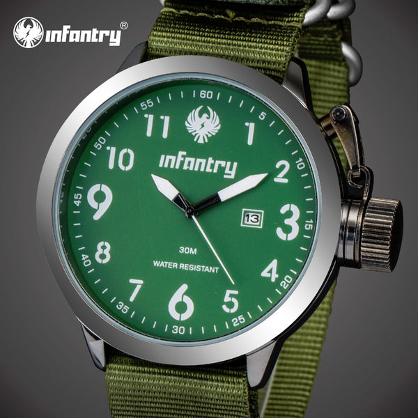 INFANTRY Mens Quartz Watch - LADSPAD.COM