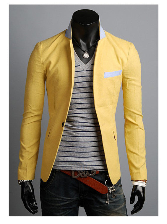 Single Button Leisure Blazers - LADSPAD.COM