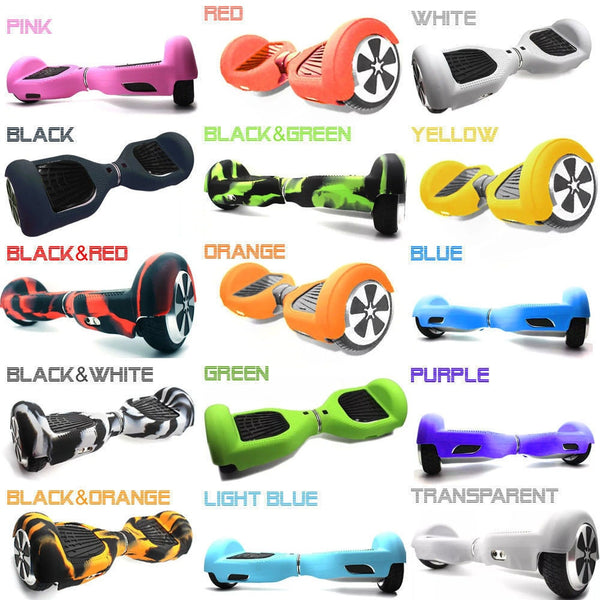 Hoverboard Silicone Shell Case Cover Waterproof Protector for Mini 6.5 Inch 2 Wheels Smart Self Balancing Electric Scooter - LADSPAD.COM
