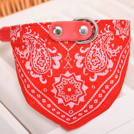 1Pc Lovely Pet Dog Scarf Collar Adjustable Puppy Bandana Quality Pet Cat Tie Collar - LADSPAD.UK
