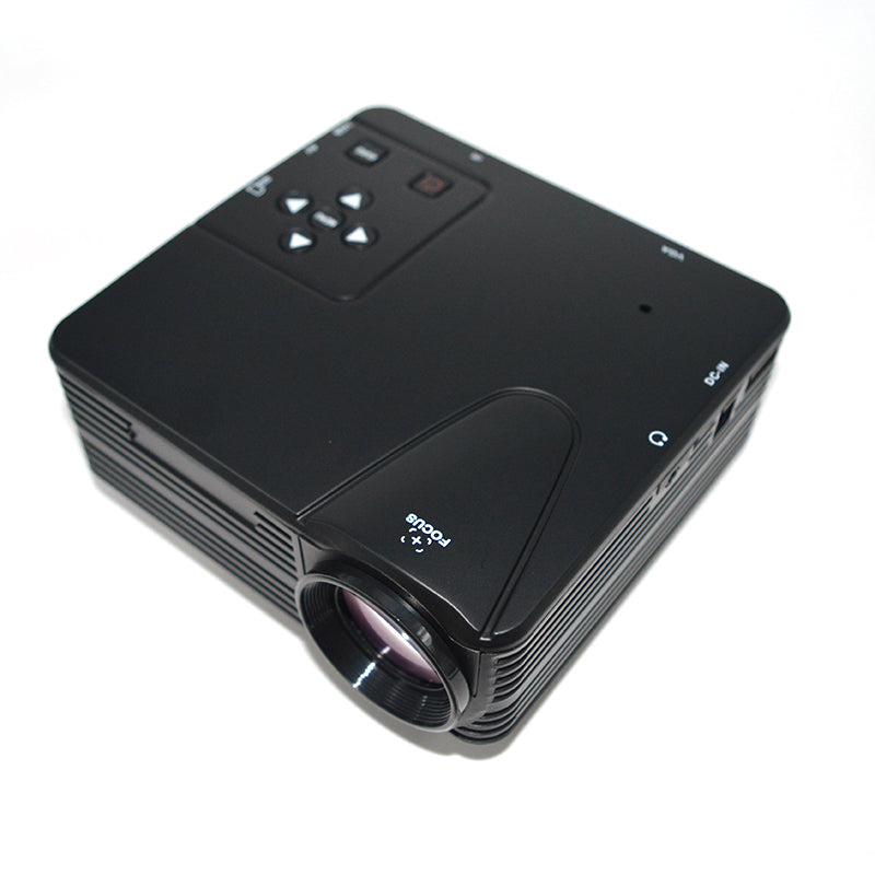 Portable Mini Projector HD 1080P LCD Digital Multimedia Player Inputs AV VGA USB SD HDMI - LADSPAD.COM