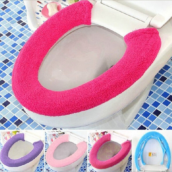 Warm Soft Toilet Seat Cover - LADSPAD.COM