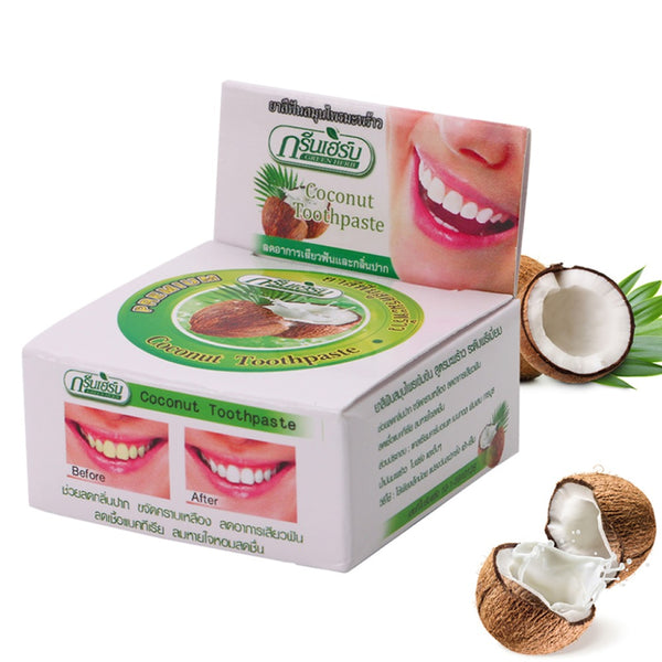 Thailand Coconut Herbal Clove Toothpaste - LADSPAD.COM