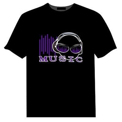 Sound Activated LED T-Shirts - LADSPAD.COM