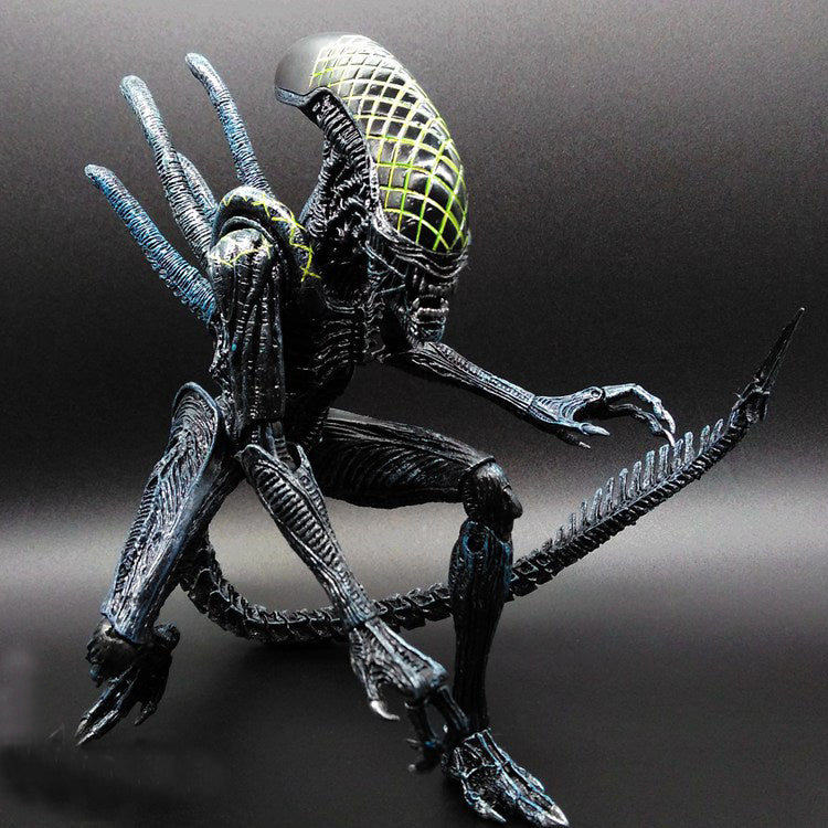 SAINTGI Alien vs Predator toy Mixed human AVP ABS 23cm Model Collectie kids MOVIE Brinquedos Series Scar Sci-Fi Film Lone Wolf - LADSPAD.UK