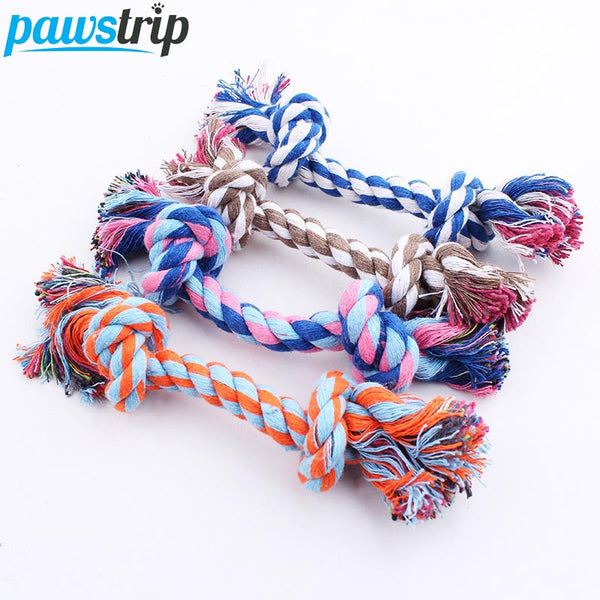 1pc Pet Dog Toy Double Knot Rope - LADSPAD.COM
