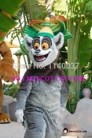 lemur  mascot costume anime cartoon character cosplay show carnival costume fancy dress - LADSPAD.UK