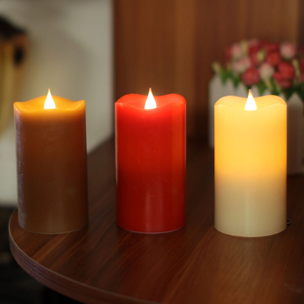 LED Flameless Moving Wick Candle - LADSPAD.COM