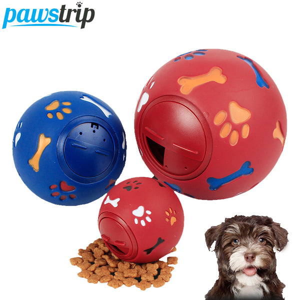 3 Size Interactive Pet Rubber Ball Chew Toy - LADSPAD.COM