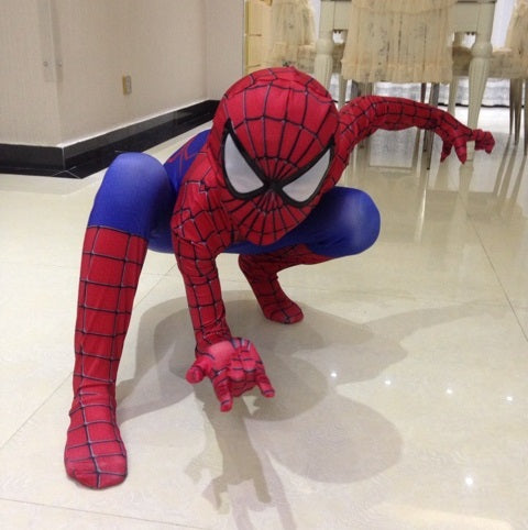 SPIDERMAN COSTUME - LADSPAD.COM
