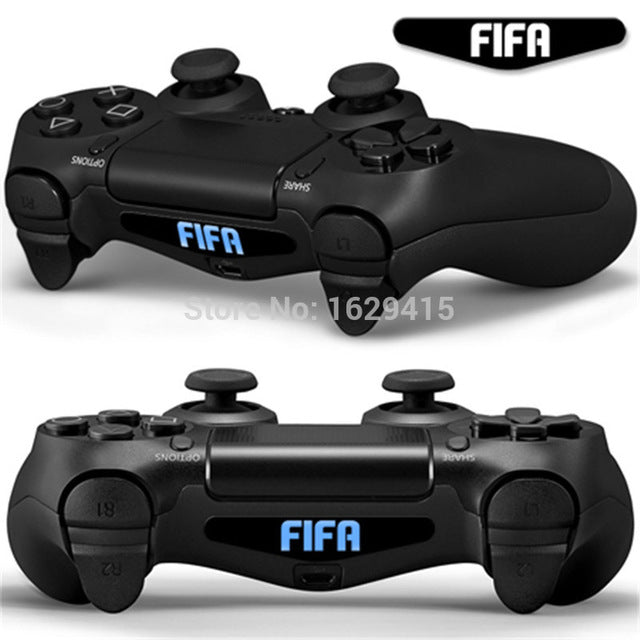 IVYQUEEN Custom 2 PCS Game Light Bar Vinyl Stickers Decal Led Lightbar  Cover For Sony PS4 Playstation Dualshock 4 Controller