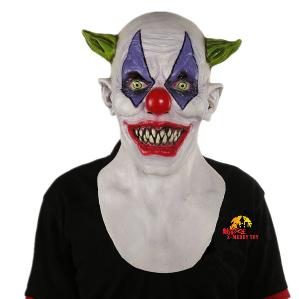 Creepy Halloween Clown Mask - LADSPAD.UK