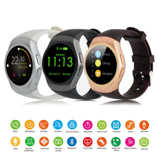 XGODY KW18 Waterproof Unisex Smart Watch - LADSPAD.COM