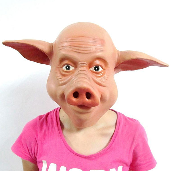 Hilarious Full Head Pig Mask - LADSPAD.UK