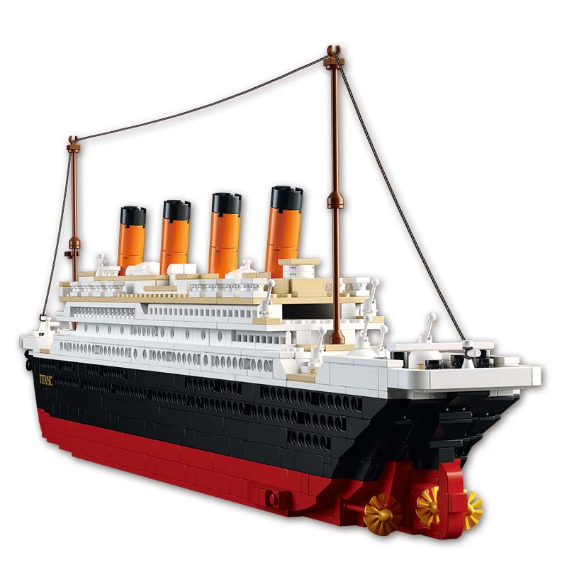 Building Blocks Toy Cruise Ship RMS Titanic - LADSPAD.COM