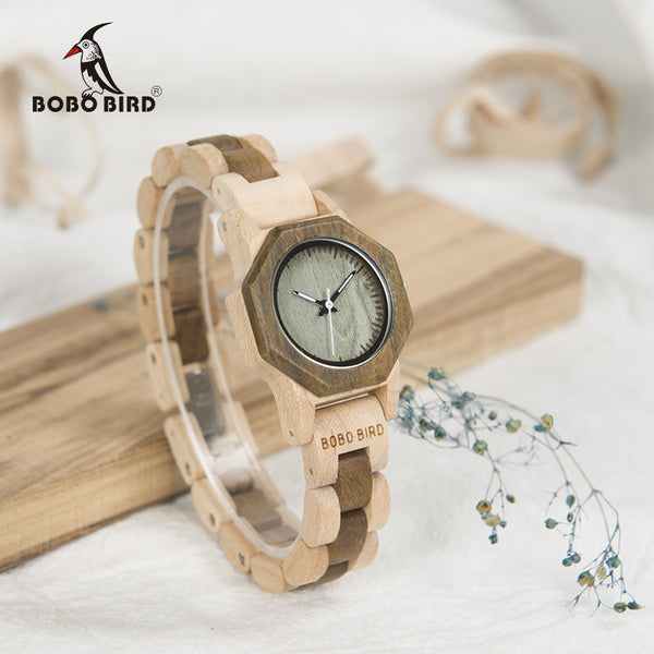 BOBO BIRD Nature Wood Watch For Women - LADSPAD.UK