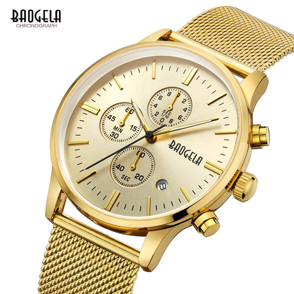 Baogela New Luxury Mens Watch - LADSPAD.COM