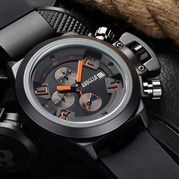 New Quartz Futuristic Mens Sport Watch - LADSPAD.COM