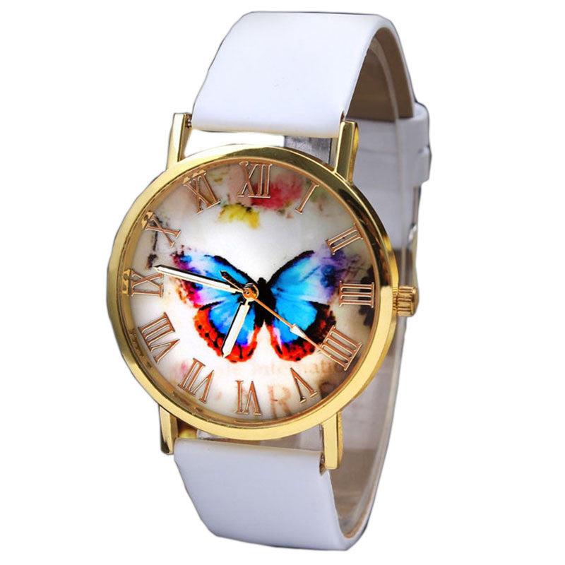 GENVIVIA Womens Butterfly Quartz Watch - LADSPAD.COM
