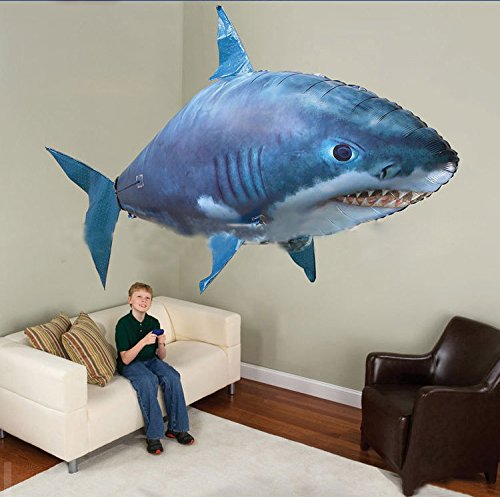Air Swimmers Remote Control Inflatable Flying Fish - LADSPAD.UK