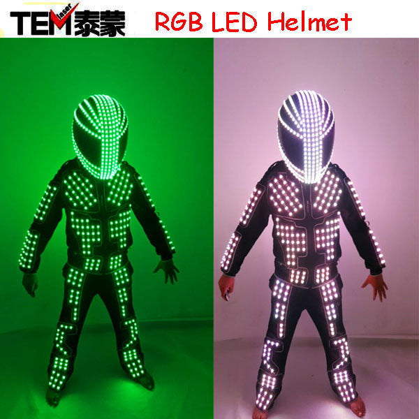 New arrived LED Costume Clothes Festive Party Supplies Luminous  Glowing Suits / Stage Performance Clothing / Robot Costume - LADSPAD.COM