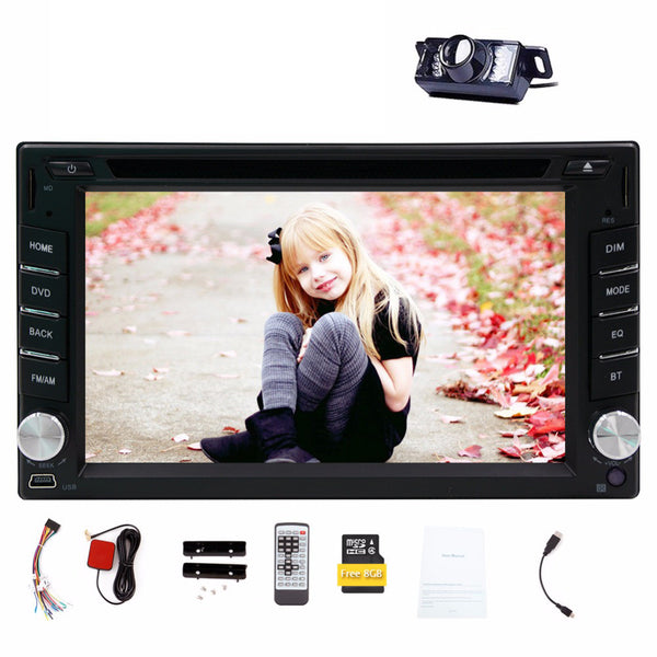 6.2'' Car Bluetooth DVD Player - LADSPAD.COM