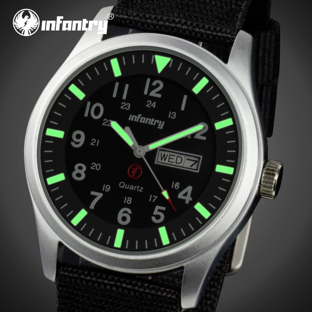 INFANTRY Quartz Mens Watch - LADSPAD.UK