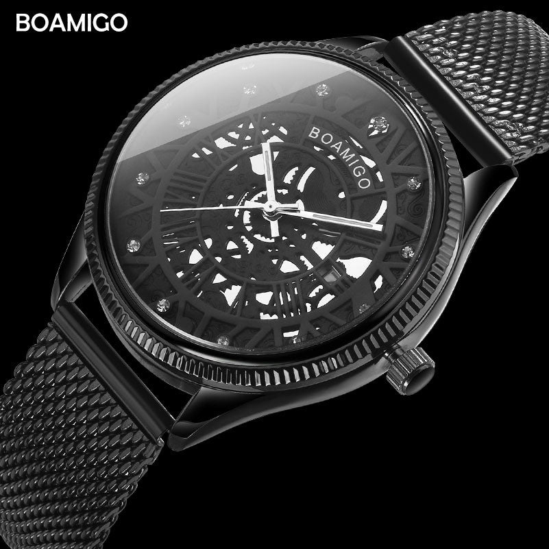 BOAMIGO Mens Quartz Watch - LADSPAD.COM