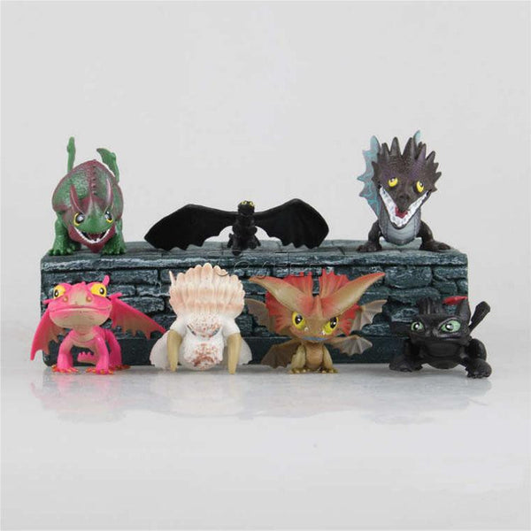 How To Train Your Dragon Mini Action Figure Collectables