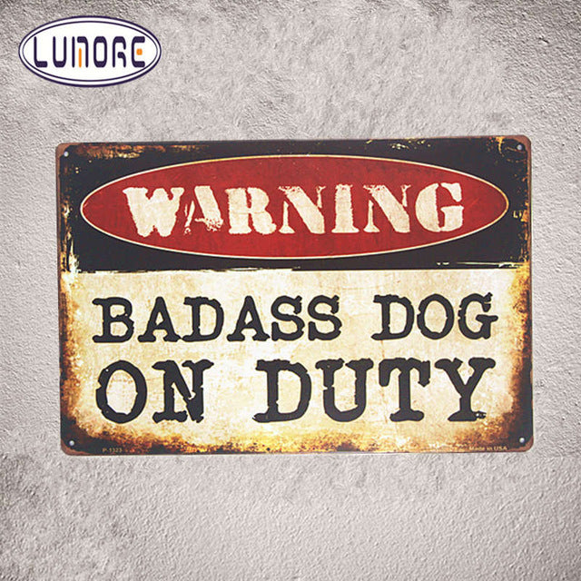 Warning F-Bombs Dropping Tin Metal Sign Funny Humor Office Dorm Man Cave Home Decor Craft Wall Painting - LADSPAD.COM