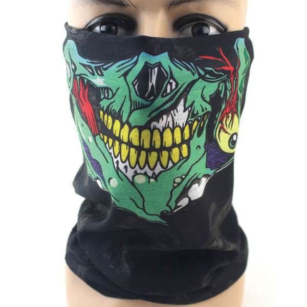 Skeleton Variety Half Face Mask