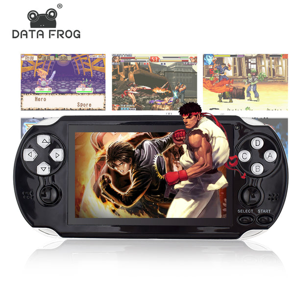 4.3 Inch Portable HD Handheld Game Console with 1000+ Games - LADSPAD.UK