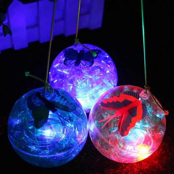 Light Up LED Flashing Bouncy Ball - LADSPAD.UK